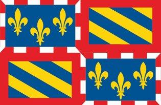 Drapeau Province de la Bourgogne