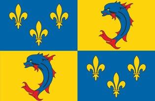 Drapeau Province du Dauphiné
