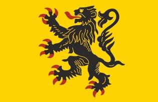 Drapeau Province de la Flandre