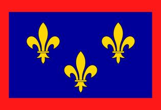 Drapeau Province de l'Anjou