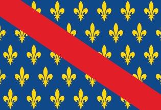 Drapeau Province du Bourbonnais