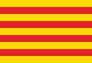 Drapeau Province de Catalogne
