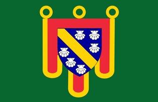 Drapeau Département du Cantal