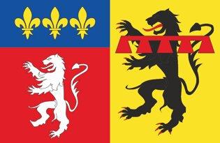 Drapeau Département du Rhône