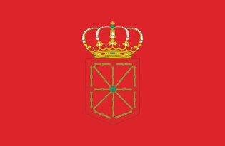 Drapeau Province de la Navarre