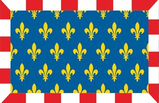 Drapeau Province de la Touraine