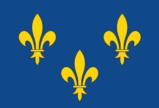 Drapeau Province de l'Ile de France