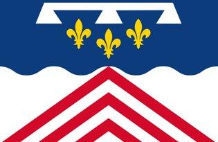 Drapeau Département de l'Eure et Loir