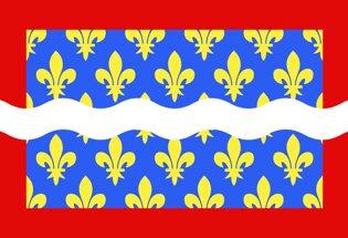 Drapeau Département du Cher