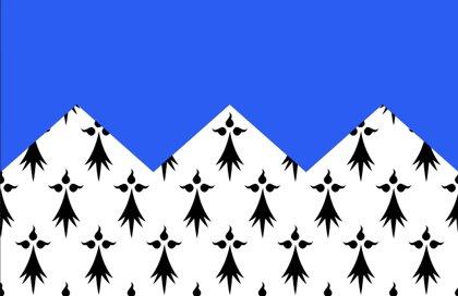 Drapeau Département des Côtes-d'Armor