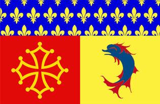 Drapeau Département des Hautes-Alpes