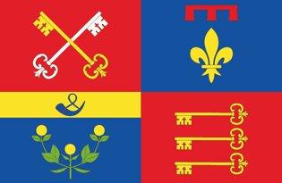 Drapeau Département du Vaucluse