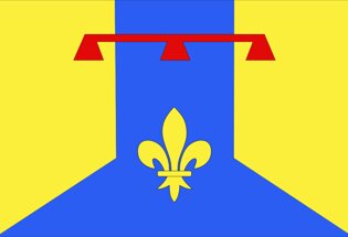 Drapeau Département des Bouches-du-Rhône