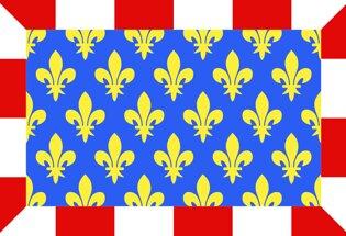 Drapeau Département de l'Indre et Loire