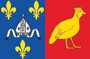 Drapeau Département de la Charente-Maritime