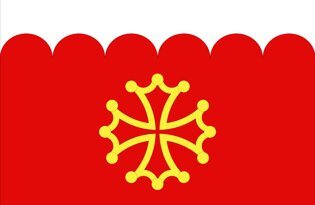 Drapeau Département du Gard