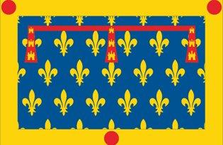 Drapeau Département du Pas-de-Calais
