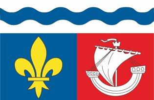 Drapeau Département des Hauts de Seine