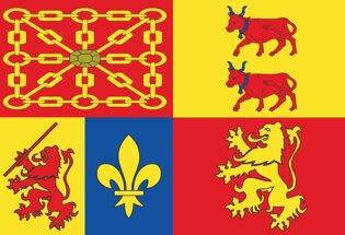 Drapeau Département des Pyrénées-Atlantiques
