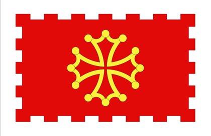 Drapeau Département de l'Aude