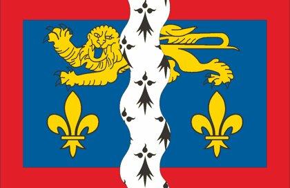 Drapeau Département de la Mayenne