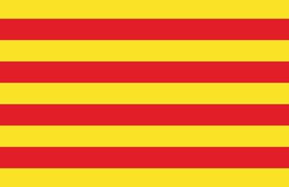Drapeau Département des Pyrénées Orientales