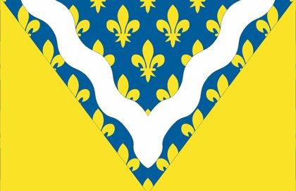 Drapeau Département du Val de Marne