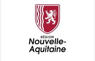 Drapeau Nouvelle Aquitaine (Logo)