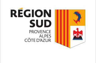 Drapeau Provence-Alpes-Cote-Azur (Logo)