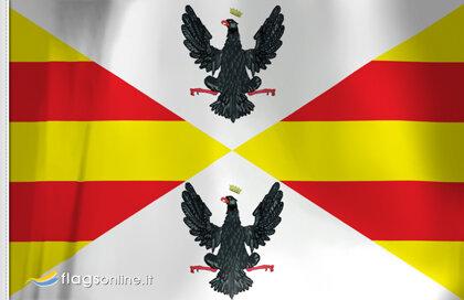Drapeau Royaume de Sicile (Marine marchande) (1296-1442)