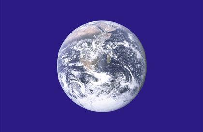 Drapeau de la Terre - Jour de la Terre