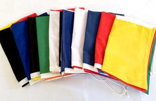 Kit 10 drapeaux au choix (tricolores + Europe)