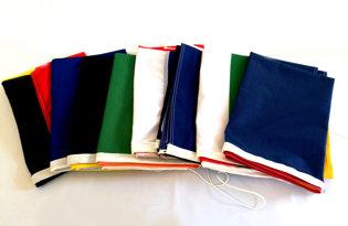 Kit 8 drapeaux au choix (tricolores + Europe)