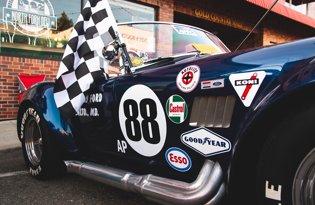 Drapeaux courses automobiles