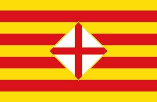 Drapeau Province de Barcelone