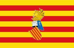 Drapeau Province de Valencia
