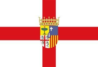 Drapeau Province de Saragosse