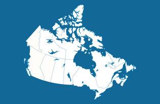 Drapeaux des territoires et provinces canadiennes