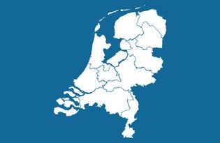 Drapeaux des provinces néerlandaises