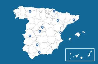 Drapeaux des villes espagnoles