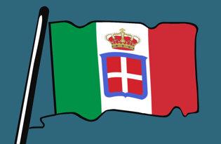 Drapeaux historiques italiens