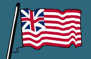 Drapeaux historiques américains