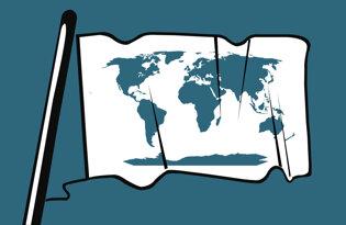 Drapeaux historiques reste du monde