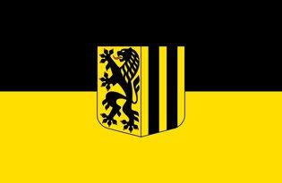 Drapeau Dresde